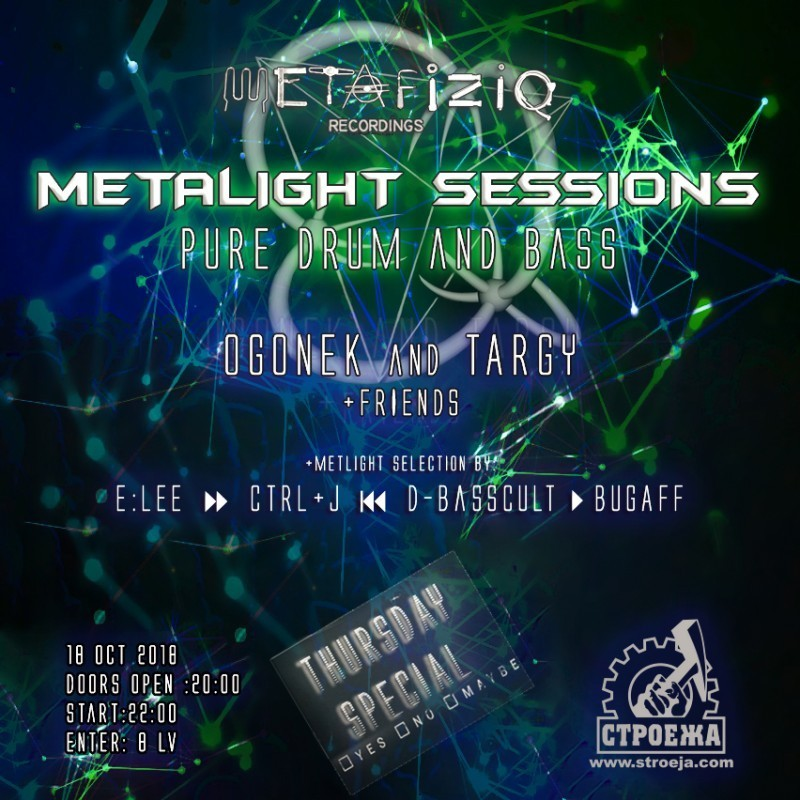 Metafiziq - Metalight Drum & Bass Thursday Special