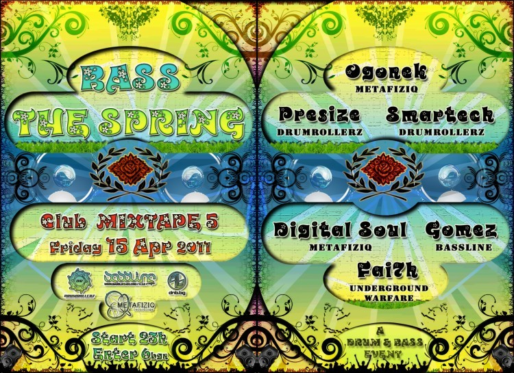 :: DRUMROLLERZ & SOLID CIRCLE :: Presents :: BASS THE SPRING ::