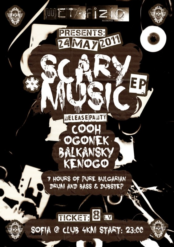 OGONEK & COOH, SCARY MUSIC EP release party
