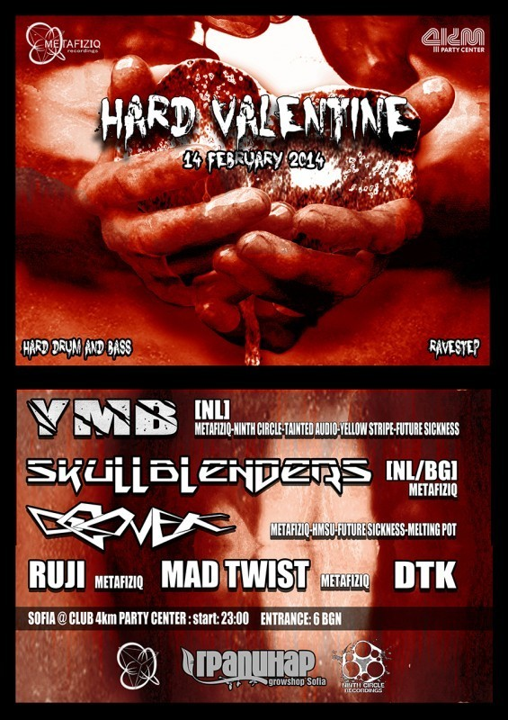 HARD VALENTINE with SKULLBLENDERS